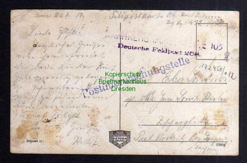 Ansichtskarte Lemberg Lwow Ringplatz Feldpost Postüberwachungsstelle 1917 1