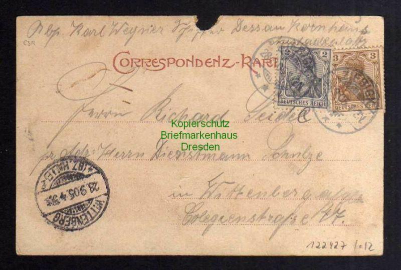 Ansichtskarte Schönpriesen Aussig Usti Kohlenhafen Elbe Lastkahn Lok Dampflok 1905 1