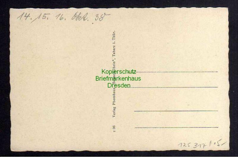 Ansichtskarte Tabarz i. Thür. Lauchagrund Schweizerhaus 1938 1
