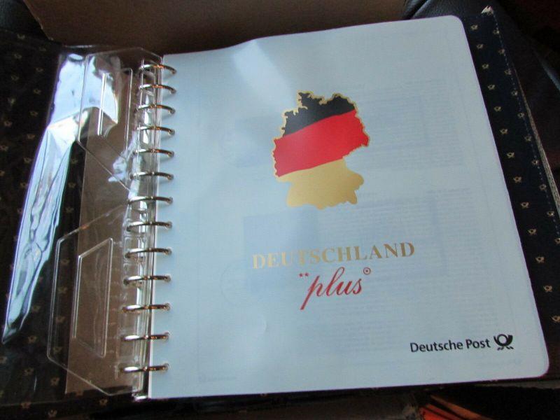 Deutschland Klassik 2002 - 2009 in 4 Ringbindern Vordrucktext mit Klemmtaschen w 2
