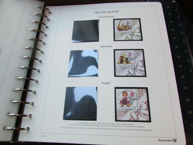 Deutschland Klassik 2002 - 2009 in 4 Ringbindern Vordrucktext mit Klemmtaschen w 3