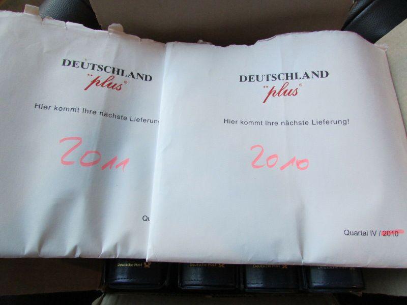 Deutschland Klassik 2002 - 2009 in 4 Ringbindern Vordrucktext mit Klemmtaschen w 6
