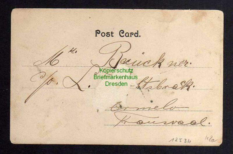 Ansichtskarte Zanzibar Ostafrika 1905 Deutsches Clubhaus 1
