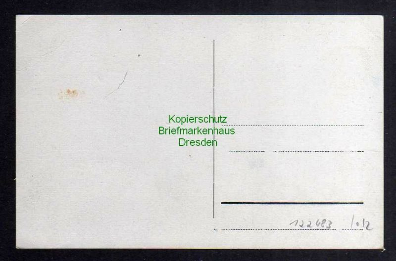 Ansichtskarte Sonneberg Spielwarenmuseum u. Handelsschule um 1935 1