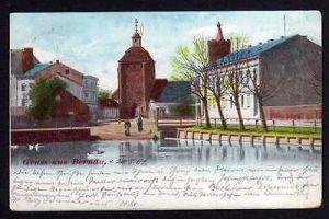 Ansichtskarte Bernau Mark 1902