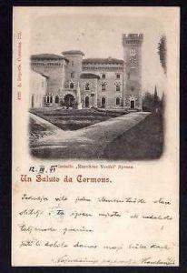 Ansichtskarte Cormòns Cormons 1899 Castello Marchese Voelkl Spessa