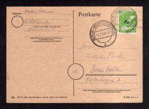 h1935 Handstempel Bezirk 3 Berlin Oberschöneweide gepr. Dr. Böheim BPP Bedarf Or