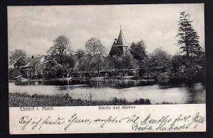 Ansichtskarte Ebstorf i. Hannover Kirche Kloster 1906
