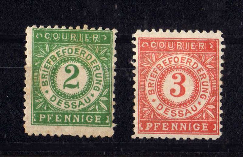 Privatpost Courier Briefbeförderung Dessau *