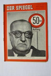 Der Spiegel 1956 10. Jahrgang Nr. 42 Verkehr Oskar Rümmele Langsamer auf allen S
