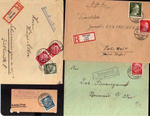 v122 Heimatsammlung Obernigk bei Breslau Ganzsachen Schlesische Presse 1873 Eins