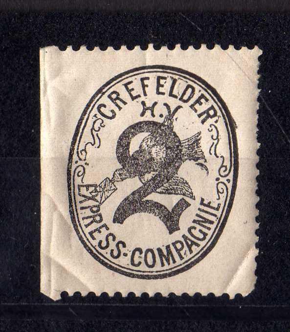 Privatpost Crefeld Crefelder Express Compagnie