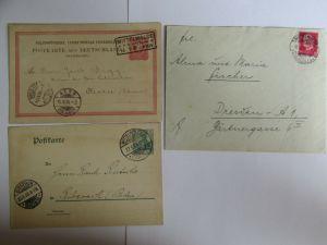 v787 Heimatsammlung Mittelwalde R. B. Breslau Schlesien Auslandsganzsache 1885 P