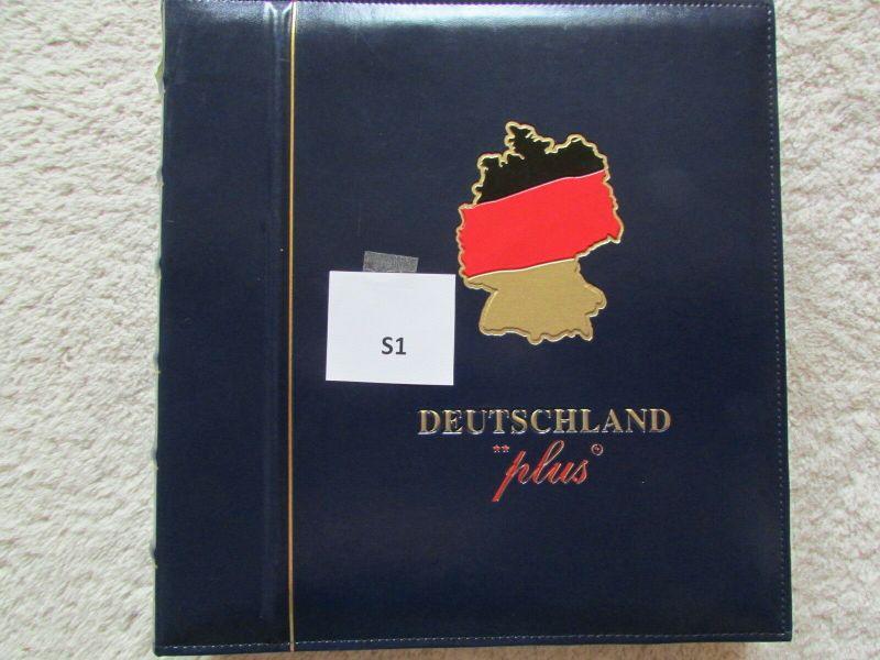 S1 Abo Sammlung BRD Deutschland plus 2001 bis 2002 postfrisch gestempelt komplet