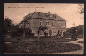 Ansichtskarte Bad Kunnersdorf bei Oschitz Osecna Hotel Kurhaus Lazne Kundratice