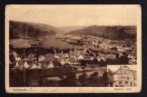 Ansichtskarte  Iselshausen Gasthaus zur Linde 1927