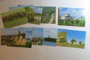 P.R. China 1987 10 Ganzsachen Scenes in Inner Mongolia Postcards  Air mail SST
