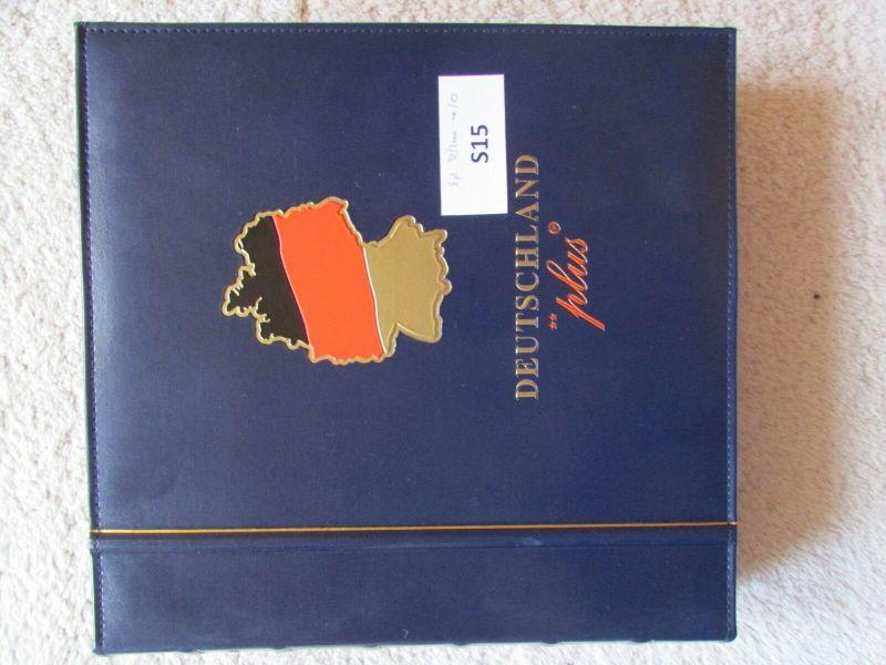 S15 Abo Sammlung BRD Deutschland plus 1998 bis 2000 postfrisch  gestempelt im Ri