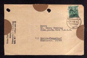 h1884 Handstempel Bezirk 3 Berlin 7 Briefteil 30.6.48 nach Tempelhof
