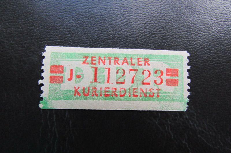DDR ZKD Dienstmarken Wertstreifen B 31 II A ** Original !!!