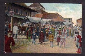 Ansichtskarte Russische Typen aus Zentral Asien 1917 Feldpost
