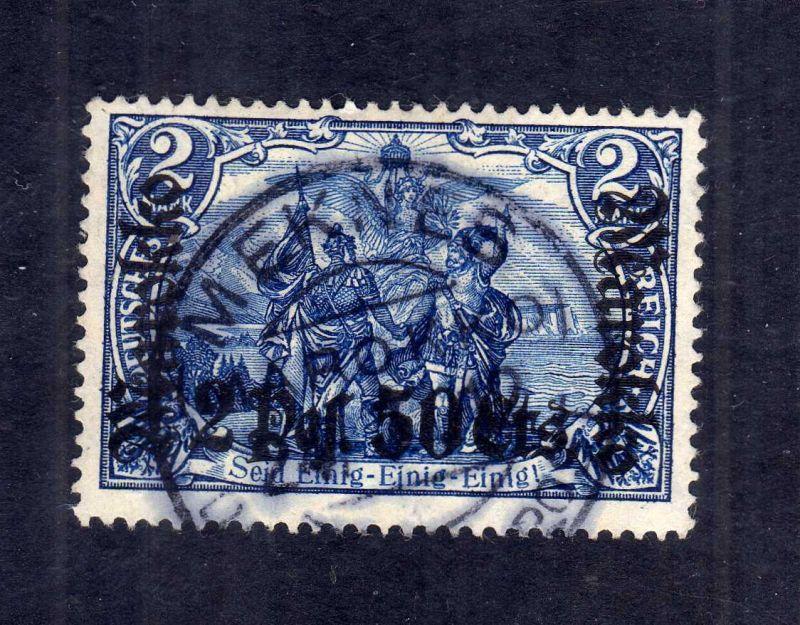 B2598 Marokko 56 IA gestempelt Meknes 1915