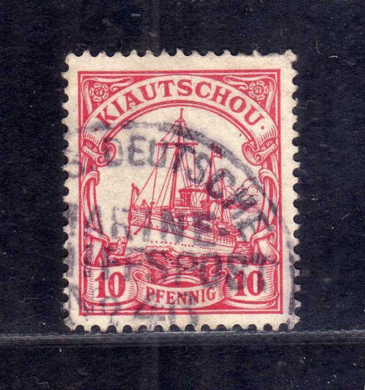 B2571 Kiautschou 7 Stempel MSP 46 SMS Hansa