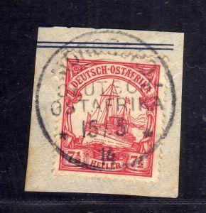 B2595 Ostafrika Luxus Briefstück Morogoro 1914