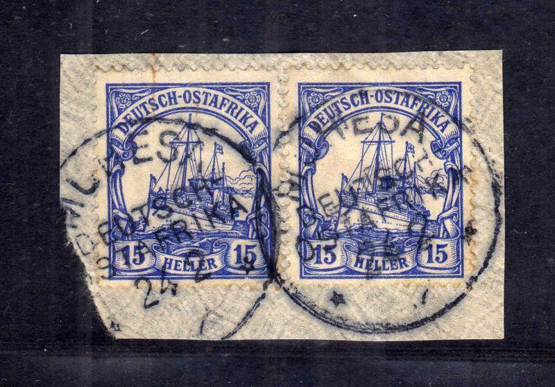 B2590 Ostafrika Luxus Briefstück Muhesa