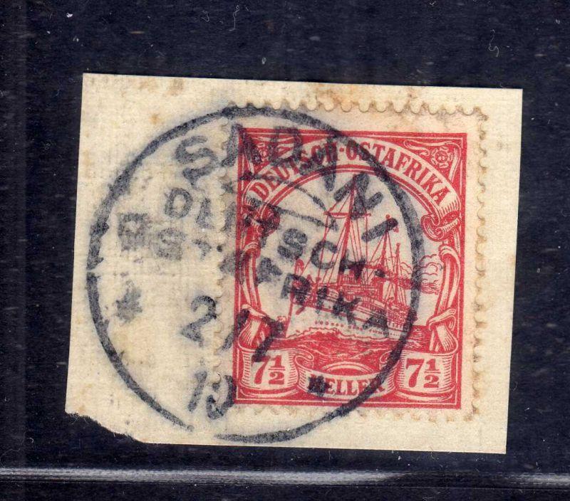 B2586 Ostafrika Luxus Briefstück Sadani 1910
