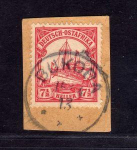 B2594 Ostafrika Luxus Briefstück Bukoba 1913