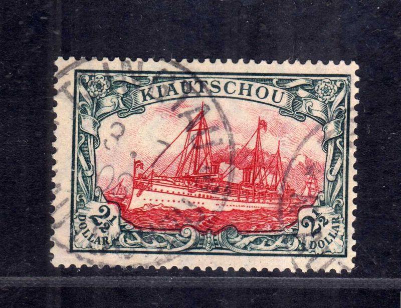 B2582 Kiautschou 37 IA gestempelt 1908 Mi 600