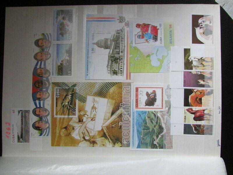 S305 Cbua 1995 - 2003 postfrisch mit Lücken, schöne Motive WWF Kleinbogen 0