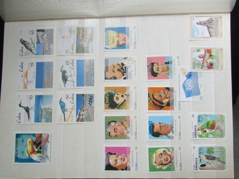 S305 Cbua 1995 - 2003 postfrisch mit Lücken, schöne Motive WWF Kleinbogen 1