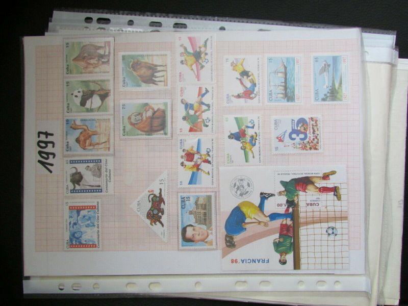S305 Cbua 1995 - 2003 postfrisch mit Lücken, schöne Motive WWF Kleinbogen 11