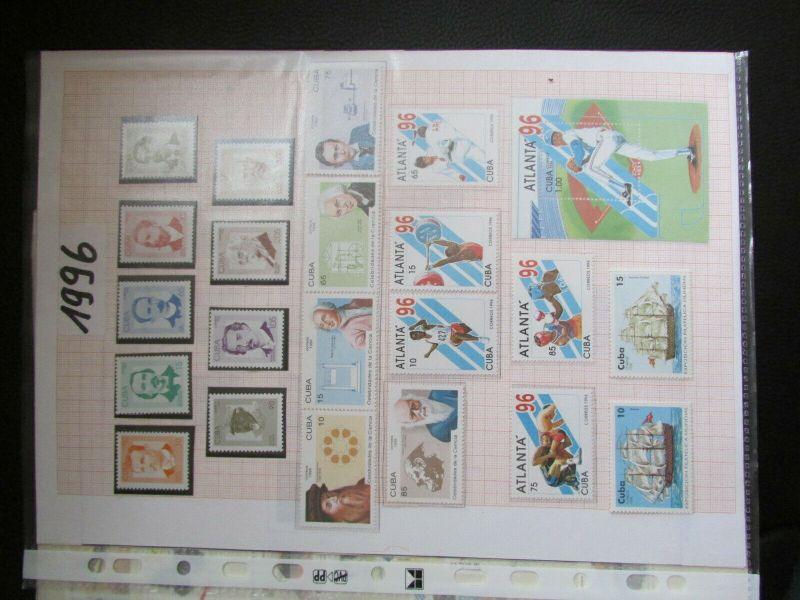 S305 Cbua 1995 - 2003 postfrisch mit Lücken, schöne Motive WWF Kleinbogen 4