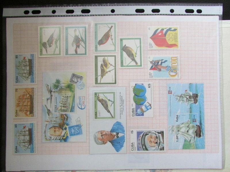 S305 Cbua 1995 - 2003 postfrisch mit Lücken, schöne Motive WWF Kleinbogen 5