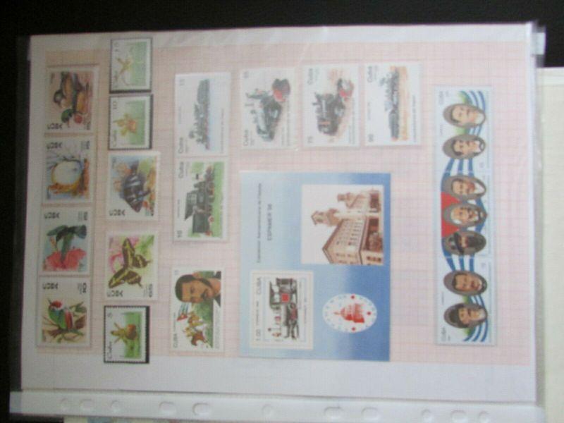 S305 Cbua 1995 - 2003 postfrisch mit Lücken, schöne Motive WWF Kleinbogen 6