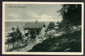 Ansichtskarte Majorenhof Riga Jürmala Majori Strandhaus Riga Lettland um 1920