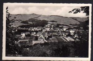 Ansichtskarte Schnait Remstal Ortsansicht Fotokarte