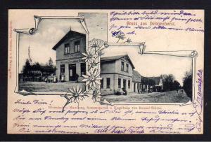 Ansichtskarte Delmenhorst 1904 Wirtschaft u. Handlung Kegelbahn Berend Stöver