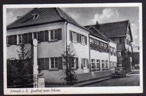 Ansichtskarte Schnait Remstal Weinstadt Gasthof zum Ochsen