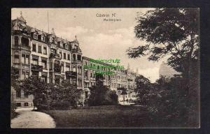 Ansichtskarte Kostrzyn nad Odra Küstrin Cüstrin 1916 Moltkeplatz