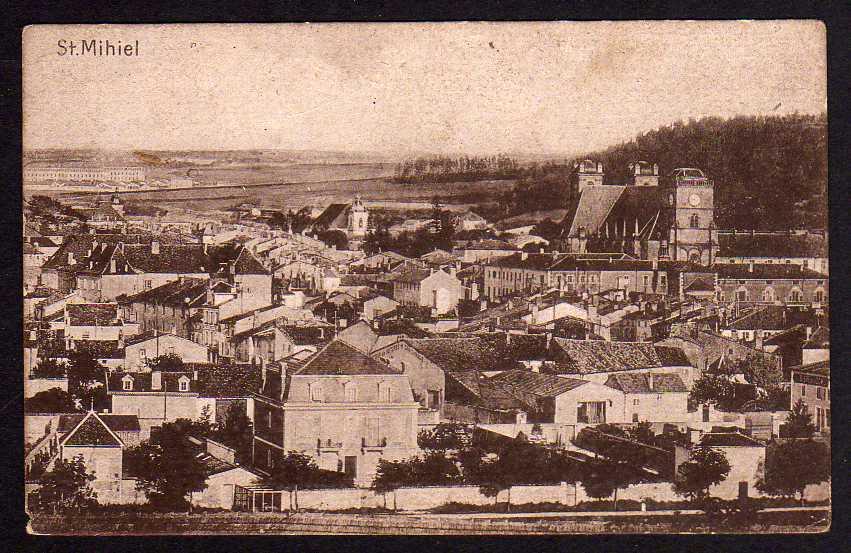 Ansichtskarte Saint-Mihiel um 1915 Frankreich Lothringen
