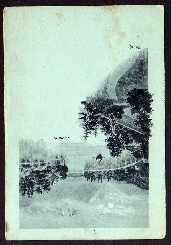 Ansichtskarte Thoune Thun 1900 Schweiz Kantons Bern