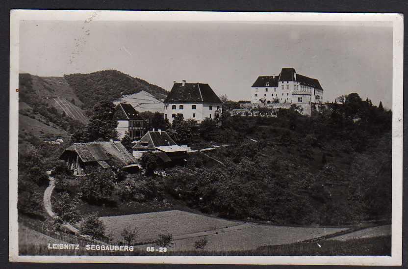 Ansichtskarte Leibnitz Österreich Steiermark 1941 Seggauberg Schloß