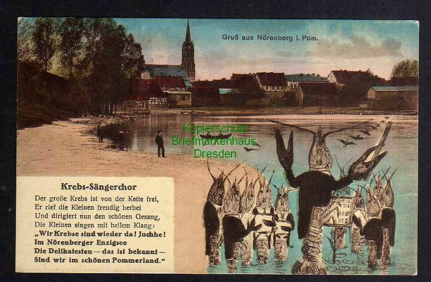 Ansichtskarte Insko Nörenberg Krebs Sängerchor Enzigsee 1934