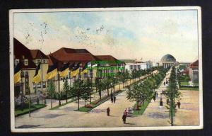 Ansichtskarte Leipzig 1914 Weltausstellung für Buchgewerbe u. Grafik SST Nr. 17