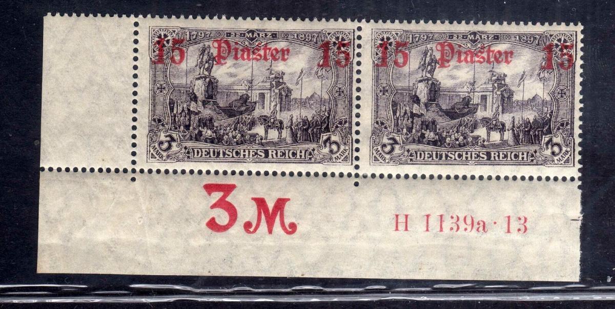 B2661 DP in der Türkei 46b HAN H 1139a.13 postfrisch Michel 1100.--