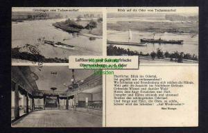 Ansichtskarte Oberweinberge an der Oder Tschammerhof Oderbogen 1926 Jubiläum